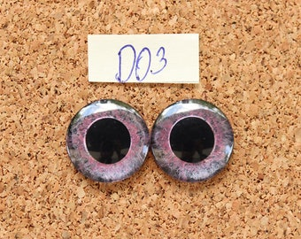 Eye Chips For Blythe Doll  Hand painted pair of eye chips no.D03