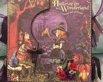 Graphic 45 Halloween in Wonderland Fantasy Mini Album
