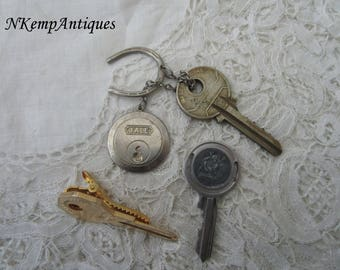 Vintage key items for re-purpose