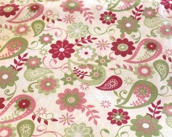 Fabric coupon 50 x 70 cm vintage theme