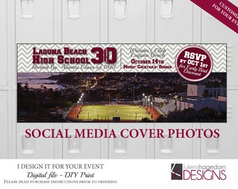 Social Media Cover Photo - Class Reunion - Digital File Only