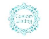 Custom Order for Arlene-Gallery Set