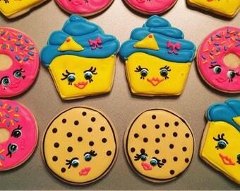 Shopkins cookie set