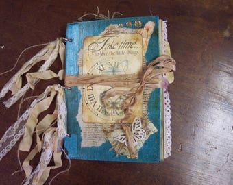 Vintage style junk journal