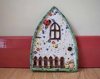 Ceramic /Pottery Fairy Door - Frostproof