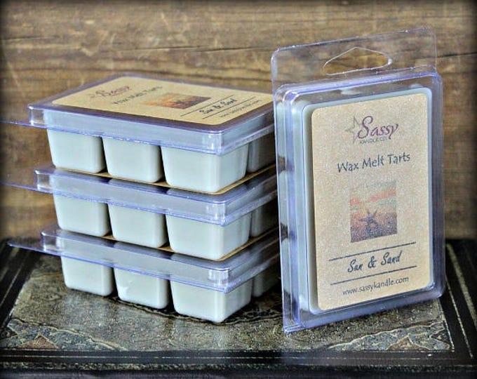 SUN & SAND (Yankee Type) | Wax Melt Tart | Sassy Kandle Co.