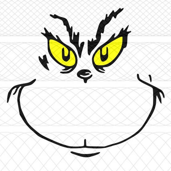 grinch face svg  png  and studio3 cut files for silhouette cameo  portrait and cricut explore diy