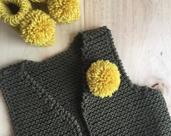 Shepherd knit vest