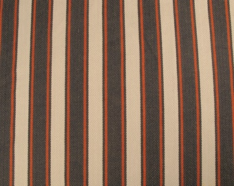 Red & Blue Twill Upholstery Fabric