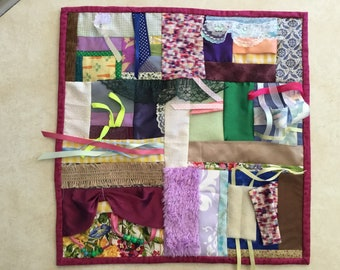 Fidget Quilt / Sensory Blanket - Window Box