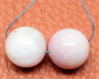 12mm/ Natural/ Kunzite/ Gemstone/ Beads/ 12mm Focal Beads