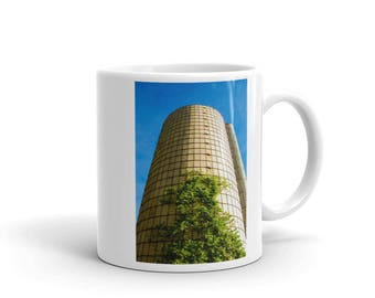 Mug - Red Silo Original Art - Silo Tree