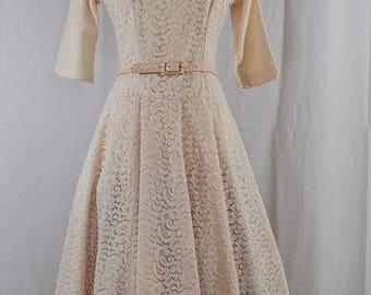 SUMMER SALE 1950's Pretty in Pink    Jonathan Logan    xsmall-small   
