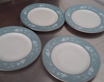 4 Royal Doulton Reflection Tea Cake Plate Plates