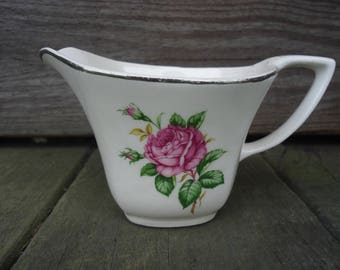 "Paden City Pottery ""Old Rose"" Creamer"