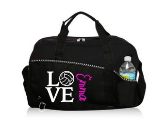 Personalized LOVE Volleyball Bag
