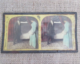Black Americana  Transparent Stereograph, Antique Stereograph Black Americana Picture, Antique Stereograph Items, Stereographs