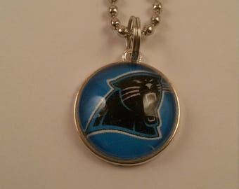 Sports Panthers Handmade Charm Necklace