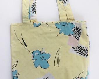 SALE Student Gift Tote Bag - Tote Bag - Flower Tote Bag - Back to School - College Student Gift - Back to School Deal - School Tote Bag