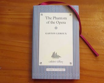 "Journal/Diary Made from used book Phantom of the Opera by Gaston Leroux ""It's A Hidden in Plain Sight Journal"""