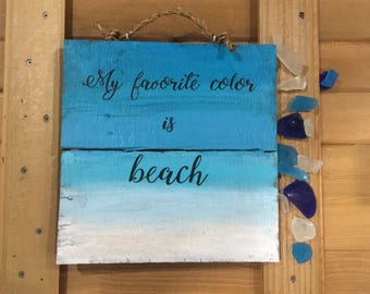 Beach signs, beach decor, beach sayings, ocean decor, beach quotes, reclaimed wood sign, beach lover gift, pallet sign, coastal decor