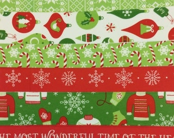 The Most Wonderful Time of the Year Washi Tape Sample