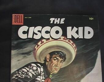 THE CISCO KID Dell May June 1955 comic magazine