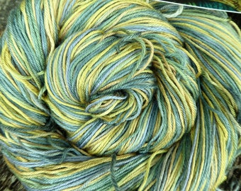 MULBERRY SILK 4 ply / fingering super-soft, Pure Silk, 94 gms, Mollycoddle Yarns, Hand Dyed