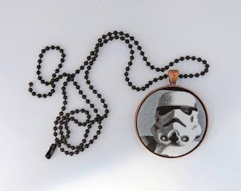 Stormtrooper 1 Fabric Pendant