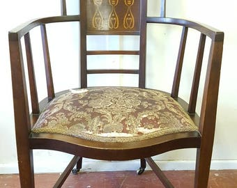 An Arts & Crafts Arm Chair by J.S. Henry