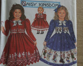 Simplicity 9847, sizes 5-8, Daisy Kingdom, dress, jacket, doll clothes, UNCUT sewing pattern, craft supplies