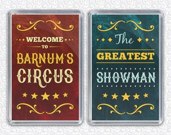 The Greatest Showman - P. T. Barnum's Circus  - Dual Purpose Magnet & Stand Alone Photo Frame