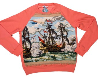Sweat men - L - boat canvas Collection