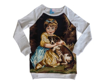 Dress KITSCH TAPESTRY - La fillette et son toutou