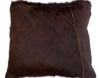 Natural Cowhide Luxurious Hair On Cushion/ Pillow Cover (15''x 15'') A72