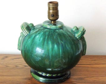 McCoy Lamp Vintage 1930's Ball Lamp