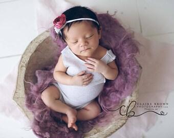 newborn winter wonderland romper set baby photoprops