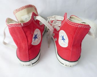 Hi Top Chuck Taylor Converse All Star Youth Size 13 Athletic Shoes