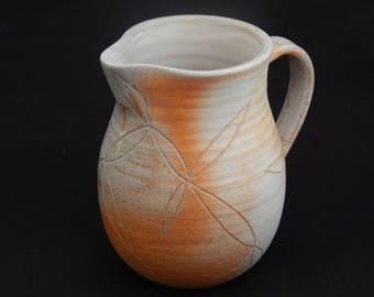 Soda Fired Hand-thrown Stoneware Ceramic Milk/Cream Jug