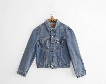 1970s Levi's Trucker Jacket - 70500 02 - Made In Italy