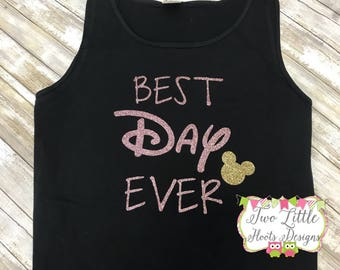 Best Day Ever Tank~ Comfort Color Tank -Disney Trip Tank~ Best Day Ever ~ Disney Trip ~ Mickey Tank ~ Disney