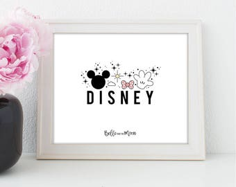 A4 Wall Art Print | Disney
