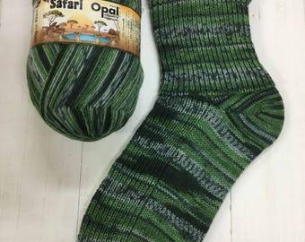 Uganda 9532 - Safari 4 ply Sock Yarn by Opal - Camo Sock
