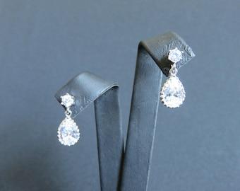 "Jewelry-Wedding earrings ""INGRID"""