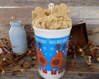 Gingerbread Scented Mug Candle