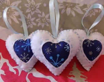 Heart shaped tree decoration