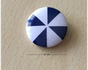 "badge 25 mm ""Windmill blue 05"""