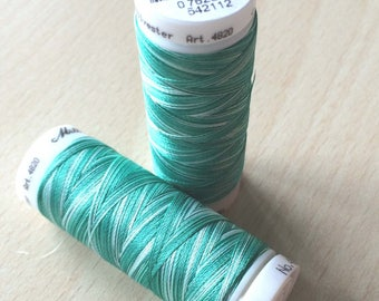 Multi color green 9931 thread