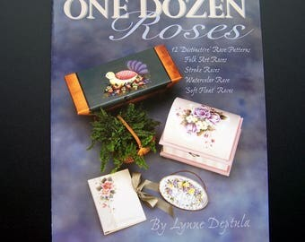 One Dozen Roses by Lynne Deptula  Tole Painting Book