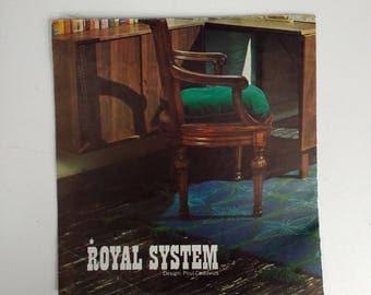 "Poul Cadovius Royal System ""Cado System"" - Original Sales Brochure - Danish Modern - Mid-Century Modern - MCM - Denmark"